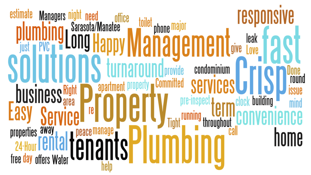 Plumbers for property managers Sarasota